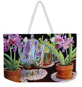 Coffee And Flowers Weekender Tote Bag