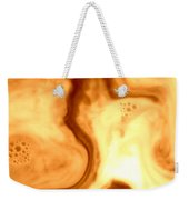 Coffee Art Weekender Tote Bag by Riad Belhimer