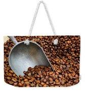 Coffee Beans With Scoop Weekender Tote Bag
