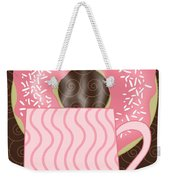 Coffee Break Weekender Tote Bag