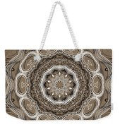 Coffee Flowers 2 Ornate Medallion Weekender Tote Bag
