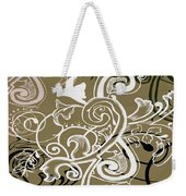 Coffee Flowers 5 Olive Weekender Tote Bag