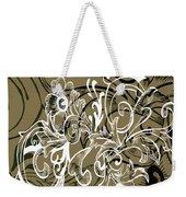 Coffee Flowers 7 Olive Weekender Tote Bag