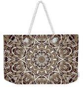 Coffee Flowers 7 Ornate Medallion Weekender Tote Bag