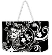 Coffee Flowers 8 Bw Weekender Tote Bag