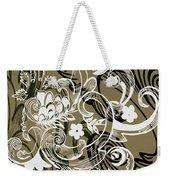 Coffee Flowers 8 Olive Weekender Tote Bag