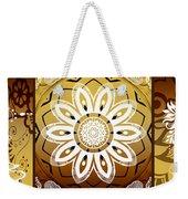 Coffee Flowers Calypso Triptych 2 Horizontal   Weekender Tote Bag