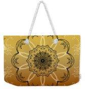 Coffee Flowers Calypso Triptych 4 Vertical Weekender Tote Bag