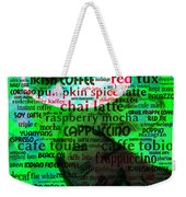 Coffee Lovers Diary 5d24472p108 Weekender Tote Bag