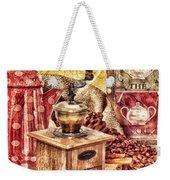 Coffee Mill Weekender Tote Bag