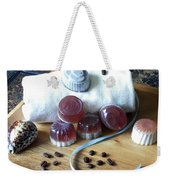 Coffee Soap Weekender Tote Bag