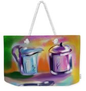 Coffee Still Life Weekender Tote Bag