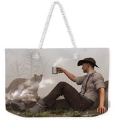 Coffee With A Cougar Weekender Tote Bag