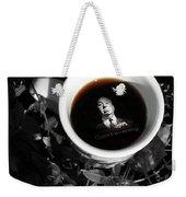 Coffee With Alfred Weekender Tote Bag
