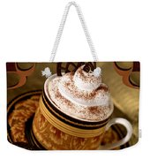 Coffee With Whipped Topping And Chocolates Weekender Tote Bag