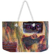 Coin Of The Realm Encaustic Weekender Tote Bag
