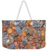 Coins Weekender Tote Bag