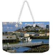 Coit Tower And Marina - San Francisco Weekender Tote Bag