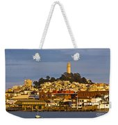 Coit Tower Golden Hour Weekender Tote Bag