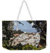 Coit Tower View Weekender Tote Bag