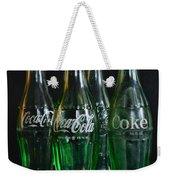 Coke Bottles From The 1950s Weekender Tote Bag