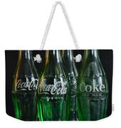 Coke Bottles From The 1950s Weekender Tote Bag