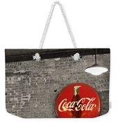 Coke Cola Sign Weekender Tote Bag