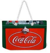 Coke Cooler Weekender Tote Bag