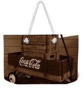 Coke Wagon Weekender Tote Bag