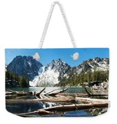 Colchuck Lake Panorama Weekender Tote Bag