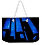 Cold Blue Steel Weekender Tote Bag