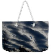 Cold Cloudscape Weekender Tote Bag