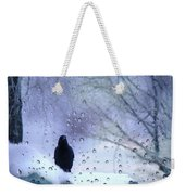 Cold Crow Weekender Tote Bag