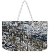 Cold Day In Hell Weekender Tote Bag