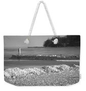 Cold Day On The Pier Weekender Tote Bag