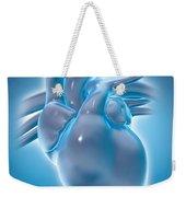 Cold Heart Weekender Tote Bag