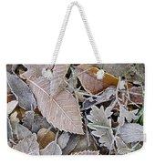Cold Leaves Weekender Tote Bag