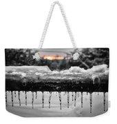 Cold Morning Light Weekender Tote Bag