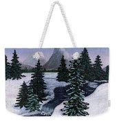 Cold Mountain Brook Weekender Tote Bag