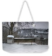 Cold Seat With A View 2 Weekender Tote Bag