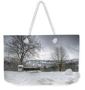 Cold Seat With A View Weekender Tote Bag