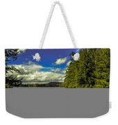 Cold Spring Day In Vermont Weekender Tote Bag