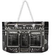 Cold Steel Bw Weekender Tote Bag