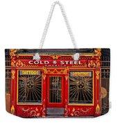 Cold Steel Weekender Tote Bag
