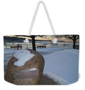 Cold Stone Weekender Tote Bag