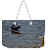 Cold Water Fetch Weekender Tote Bag