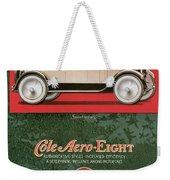 Cole Aero Eight Vintage Poster Weekender Tote Bag