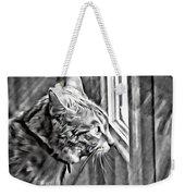 Cole Kitty Watchful Weekender Tote Bag