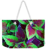Coleus Color Weekender Tote Bag
