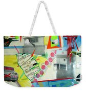 Collage 444 Weekender Tote Bag by Bruce Stanfield